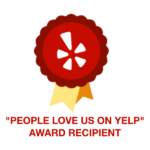 people love us on yelp award recipient